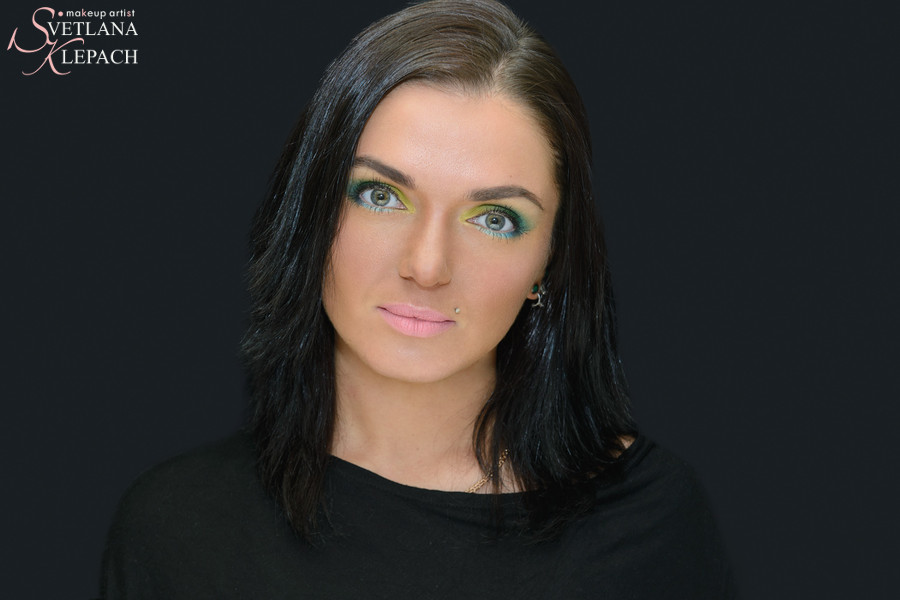 Весенний макияж, Работы Светланы Клепач