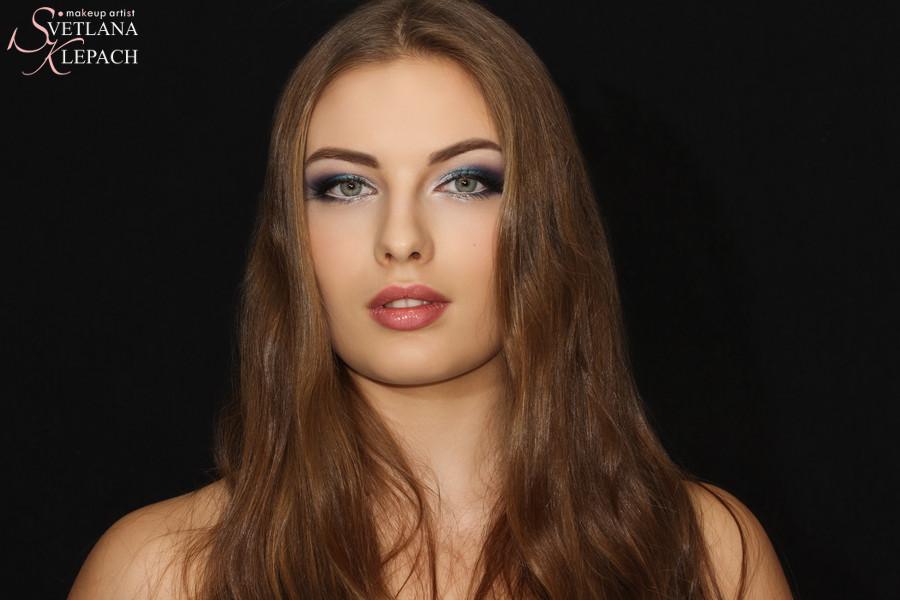 Вечерний макияж, Работы Светланы Клепач