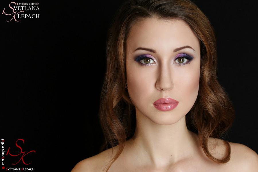 Фиолетовый макияж, Работы Светланы Клепач