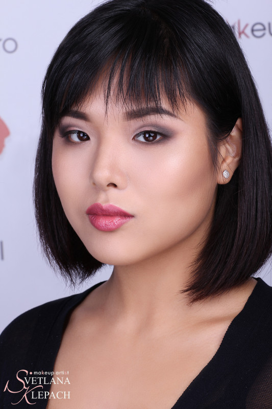 Моя работа для видео-урока. Азиатский макияж: мнимая складка, Работы Светланы Клепач
