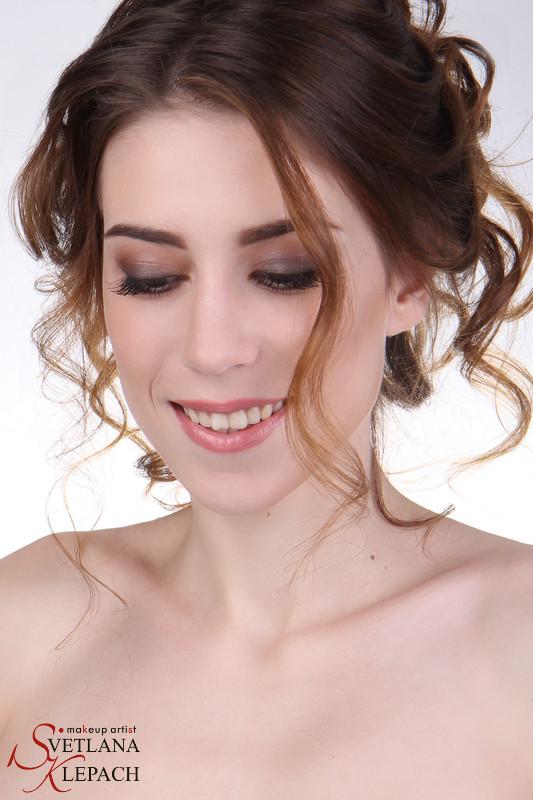Свадебный макияж, Работы Светланы Клепач