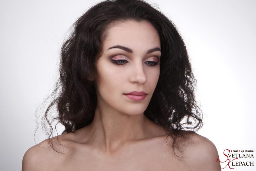 Графика в макияже, Работы Светланы Клепач