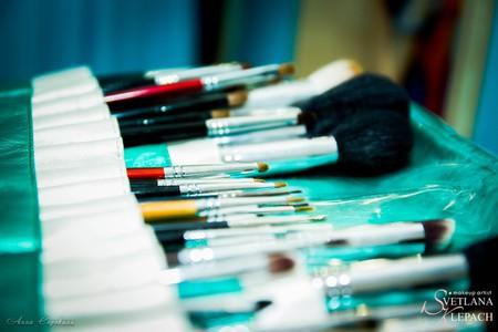 Стандартный набор косметики и кистей начинающего визажиста