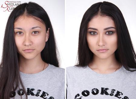 Макияж для азиатских глаз. Smoky eyes (видео)